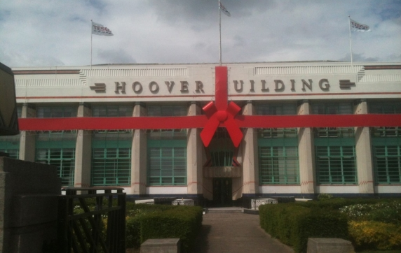 Hoover Building Wrap Project