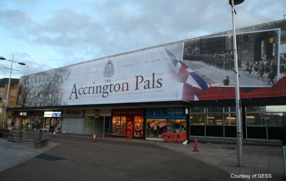 Accrington Pals Building Wrap Project