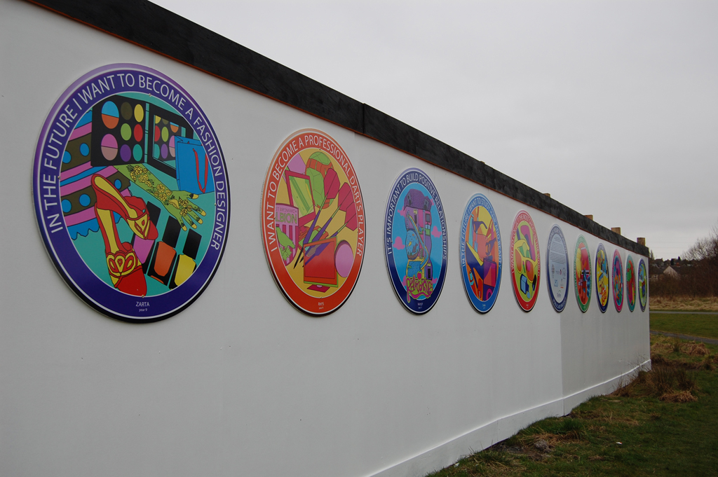 School Advertising Hoardings Project