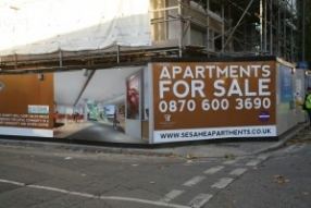Sesame Building Hoardings Project